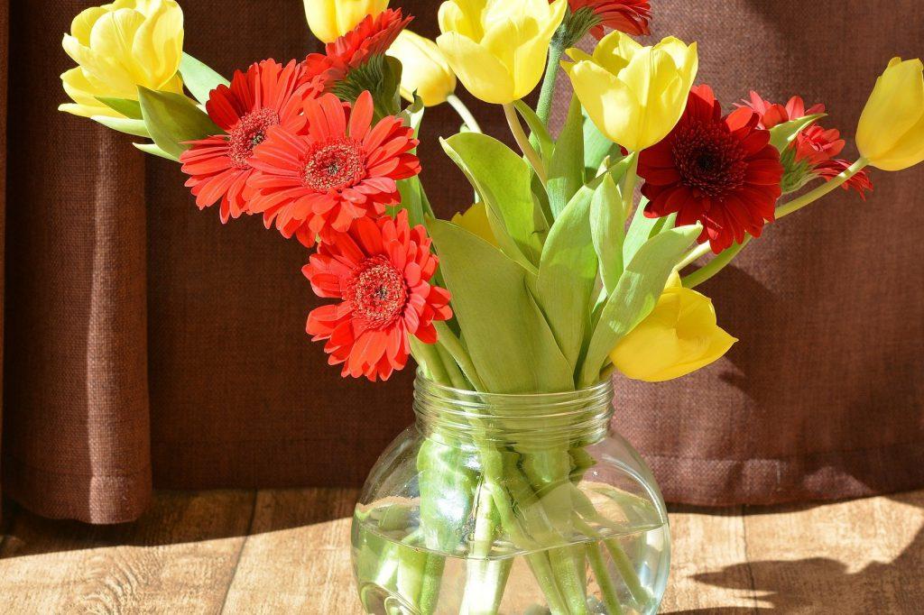Blumenstrauß Farbe Gelb