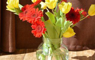 Blumenstrauß Gelb-Rot