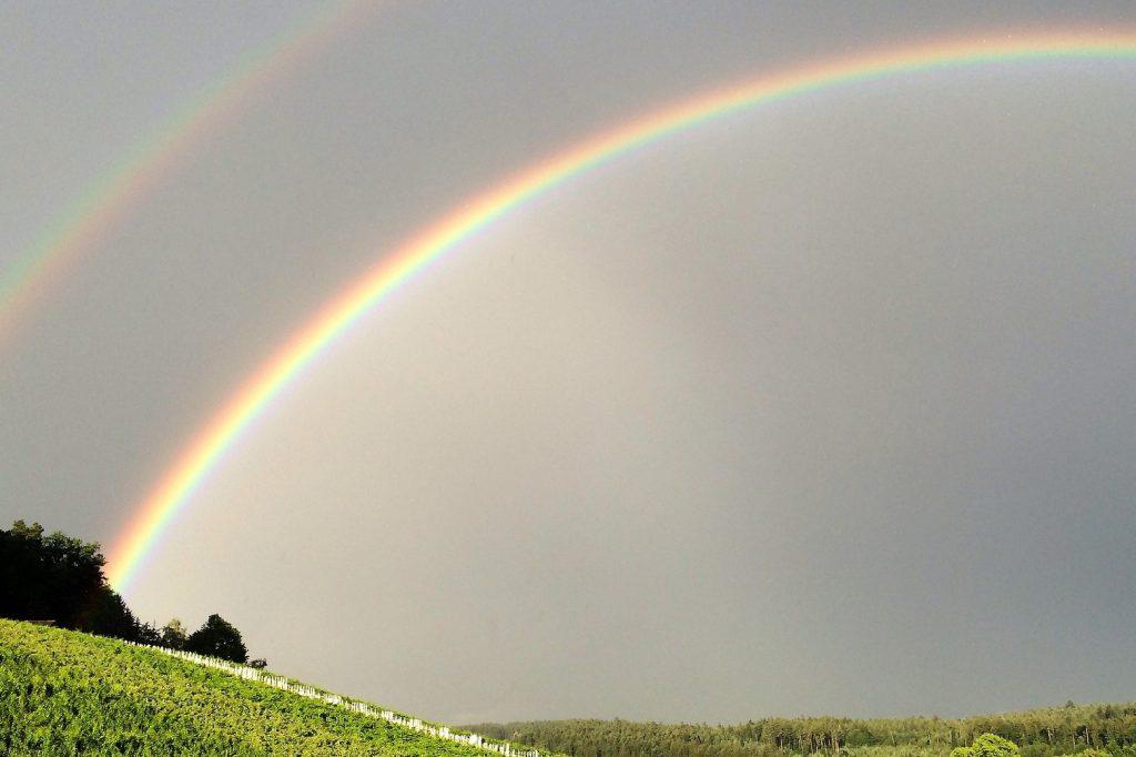 Lichtbrechung Regenbogen