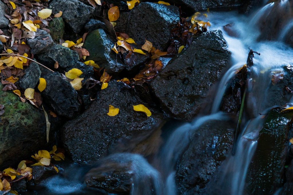 Element Wasser - Wasserfall