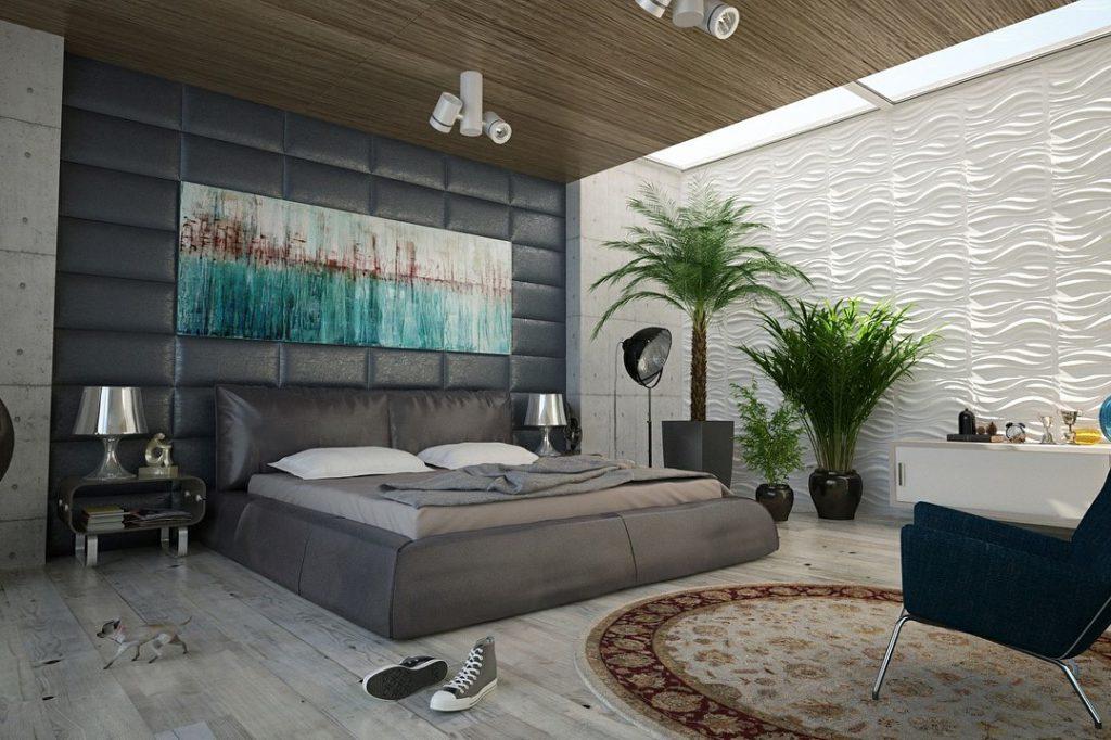 Feng Shui Schlafzimmer - Möbel harmonisch abgerundet
