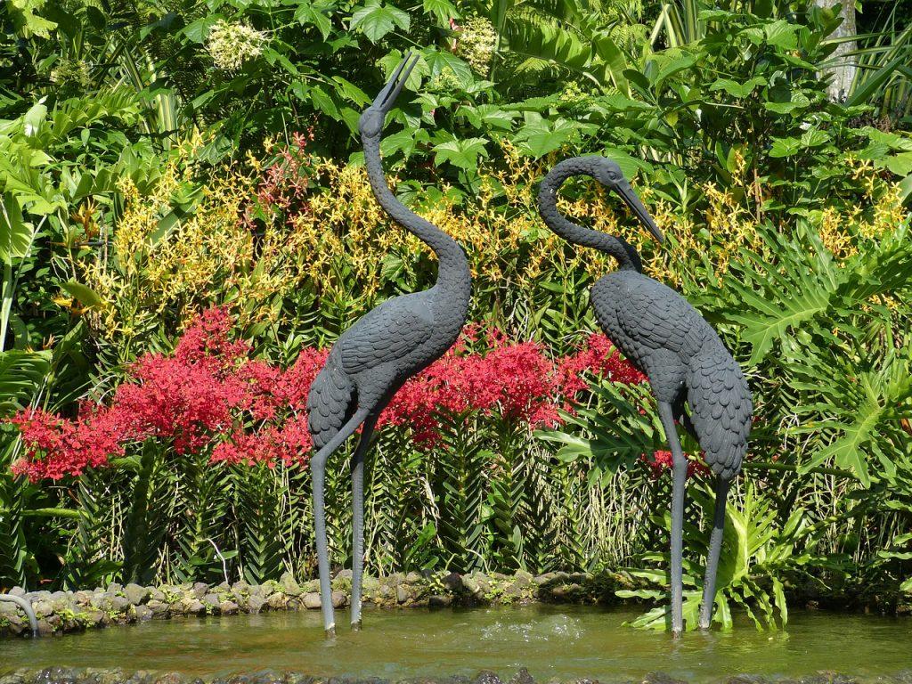 Feng Shui Gartengestaltung - Asien
