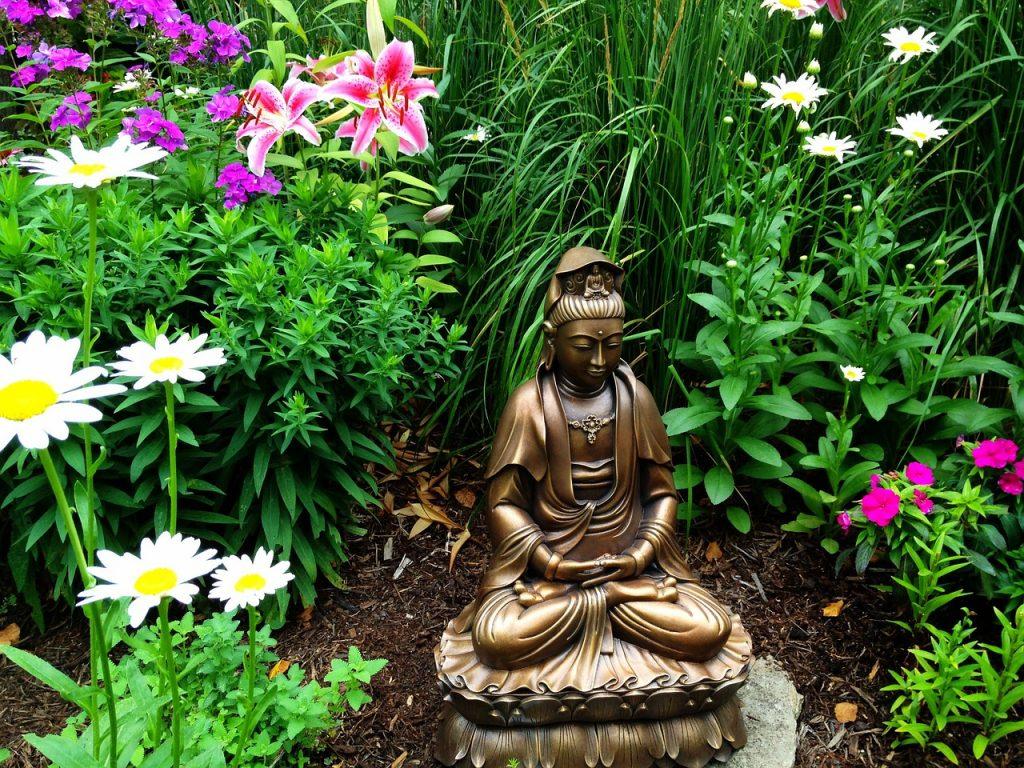 Feng Shui Gartengestaltung - Buddha