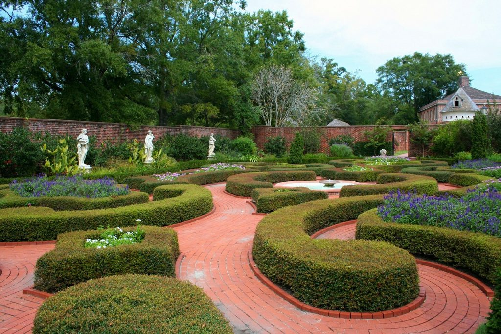 Feng Shui Gartengestaltung - Italienischer Garten