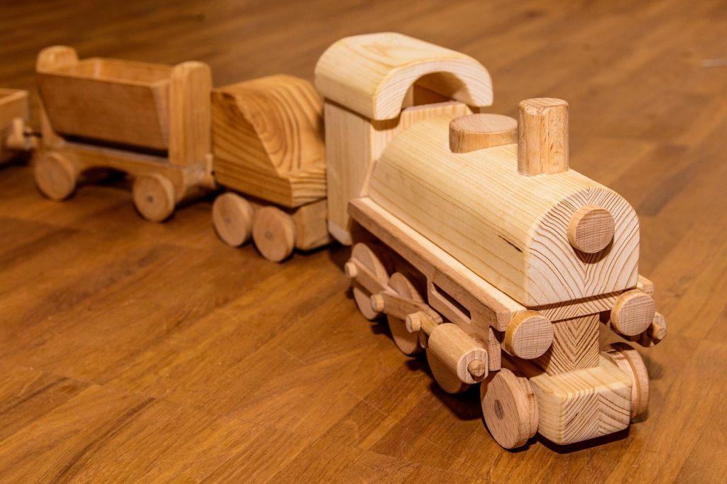 Feng Shui im Kinderzimmer - Kinderspielsachen aus Naturmaterial