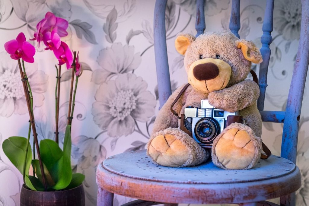 Feng Shui im Kinderzimmer - Lieblingsteddy mit Hobby
