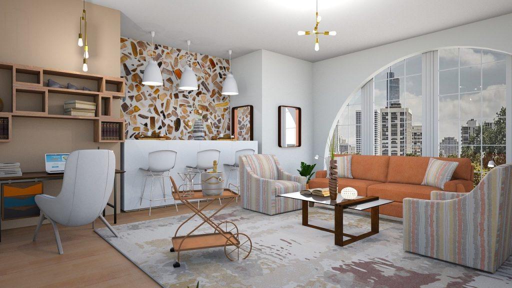 wohnen im Feng Shui Luxus-Apartment
