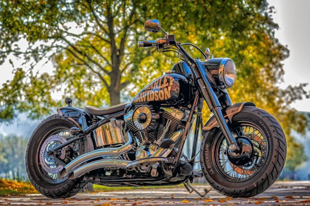 Feng Shui Clearing im Fahrzeug - Motorrad Harley Davidson